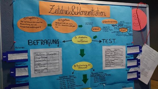 Wissenschaftliches Projekt in den 13. Klassen