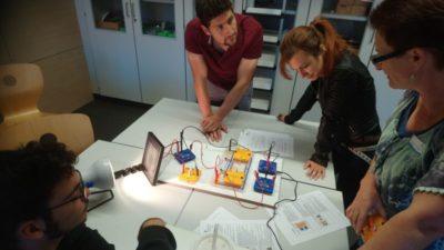 Die Vorklasse b11a im Umweltunterricht der Stadtwerke FFB