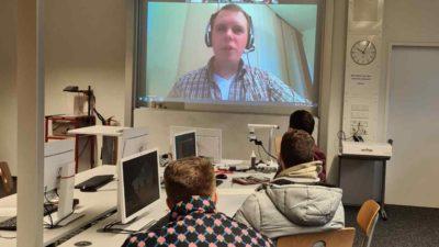 Schnuppervorlesung im Fach Informatik: Robotik – Megatrends der Zukunft